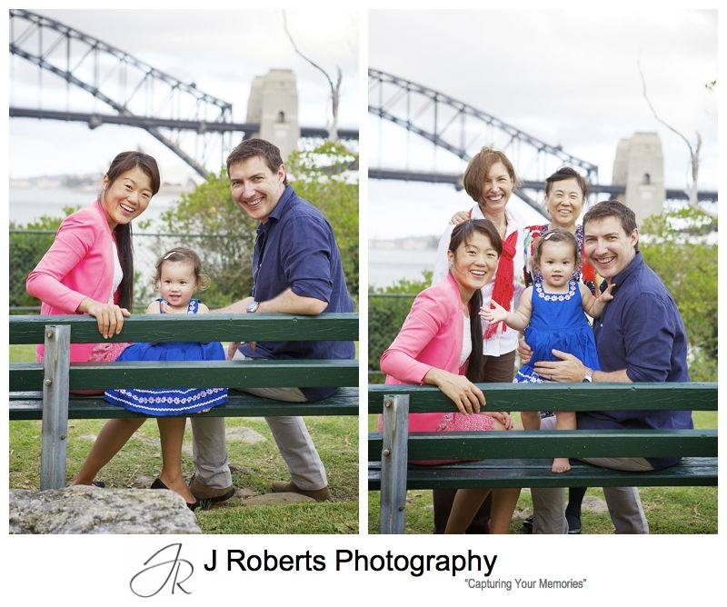 Multi generation family portrait for mothers day - sydney family portrait photography